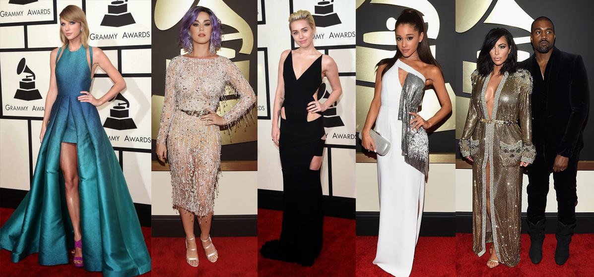 Los mejores vestidos de la entrega de los premios Grammy 2015