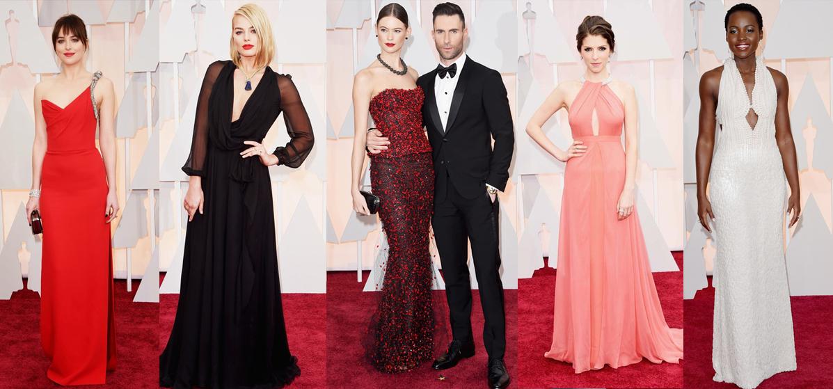 Los mejores outfis de la entrega del Oscar