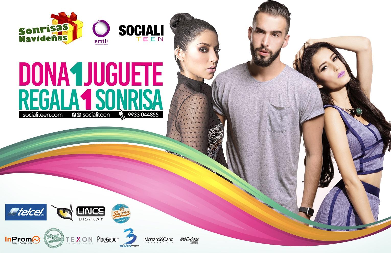 """Campaña social """"Sonrisas Navideñas"""" 2016"""