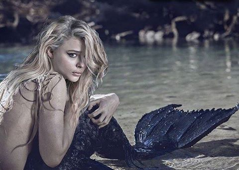 La Sirenita con Chloë Grace Moretz