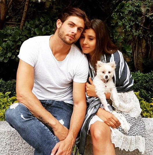 ¡Que linda pareja! Paulina Goto y Horacio Pancheri