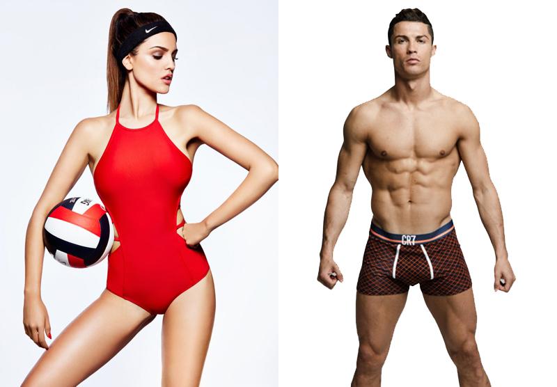 Eiza Gonzalez y Cristiano Ronaldo ¿juntos?