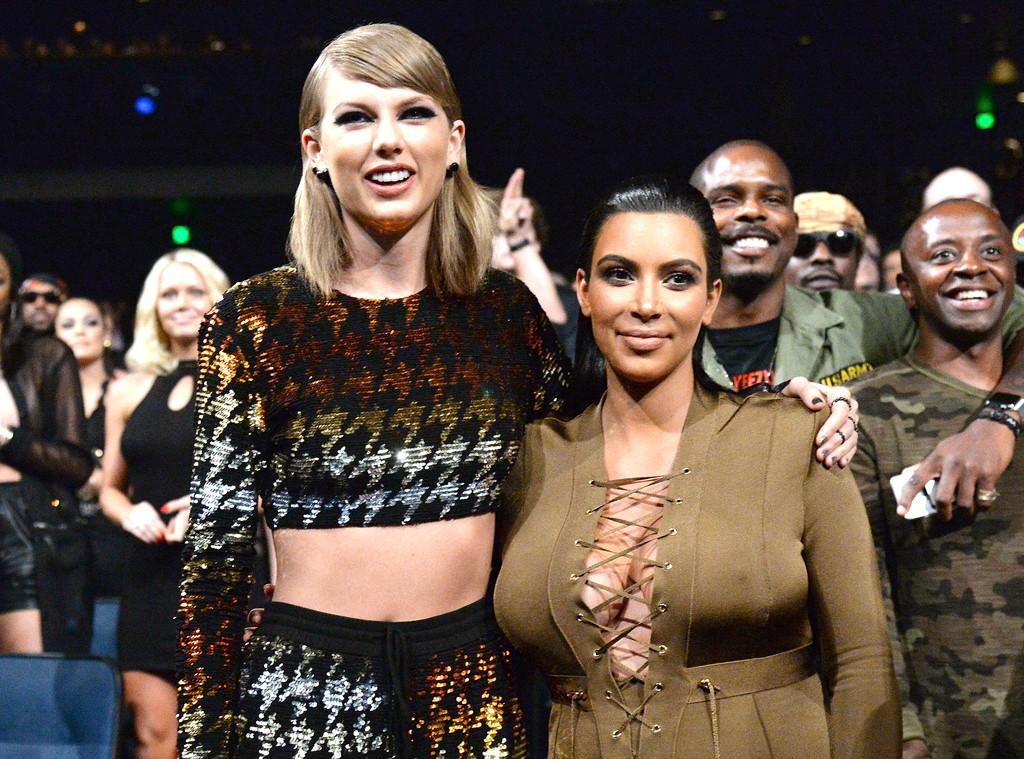 Siguen los problemas entre Taylor Swift y Kim Kardashian
