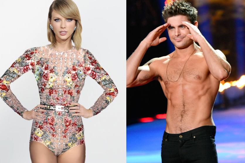 Taylor Swift y Zac Efron ¡nueva pareja!