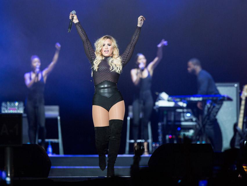 Demi Lovato se presenta en México