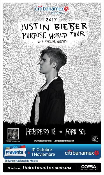 Justin Bieber regresa a México