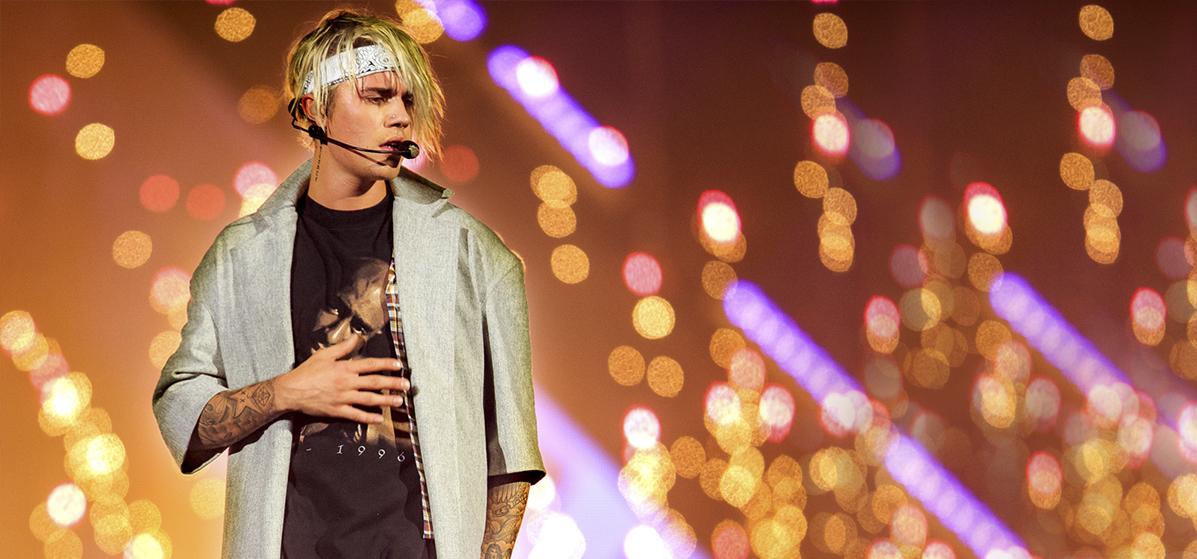 Justin Bieber inicia conciertos en México