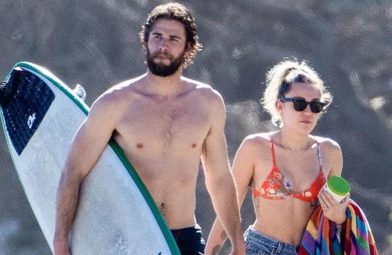 Miley Cyrus y Liam Hemsworth más enamorados que nunca