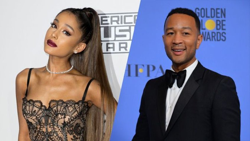 Ariana Grande y John Legend sorprenden con tema oficial de 'Beauty and the Beast'