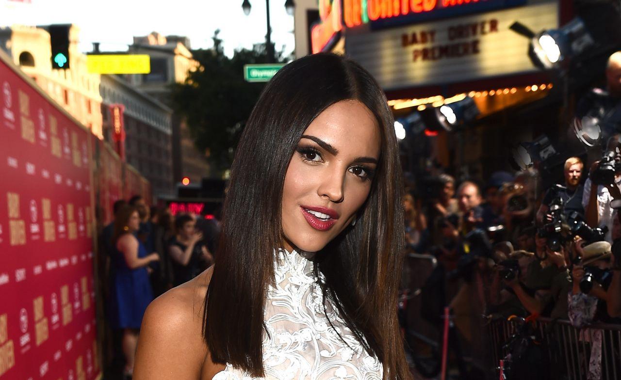 """Eiza Gonzalez triunfa en Los Ángeles con  """"Baby Driver"""""""