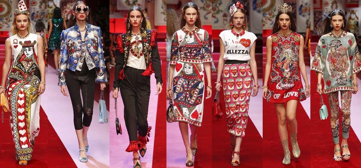 Dolce & Gabbana primavera/verano 2018