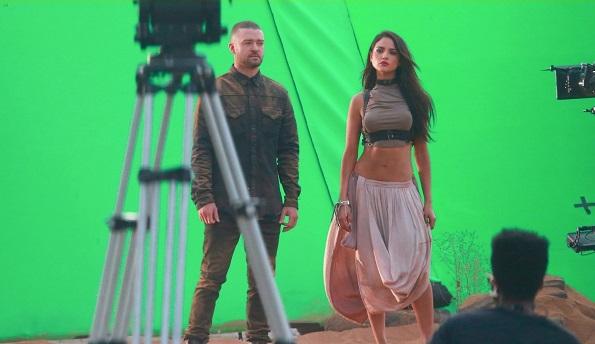 Eiza Gonzalez protagoniza vídeo musical de Justin Timberlake