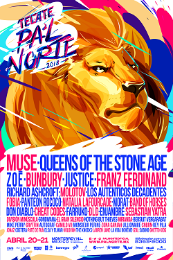 Poster Oficial Pal Norte 2018s