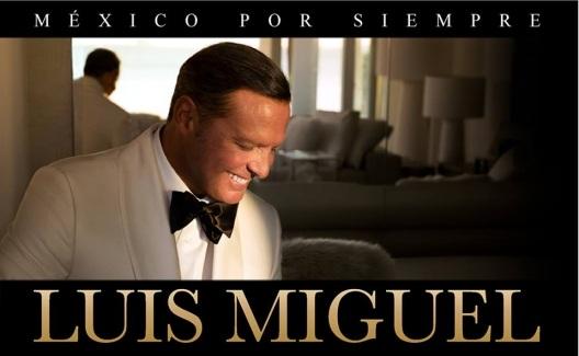 Luis Miguel abre nueva fecha en Auditorio Nacional