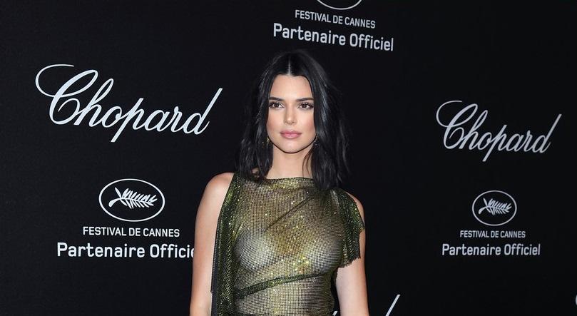 Kendall Jenner se llevo la noche en Cannes