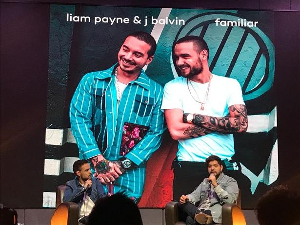 Rueda de prensa con Liam Payne