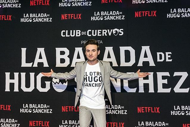 Netflix celebra el estreno de La balada de Hugo Sánchez