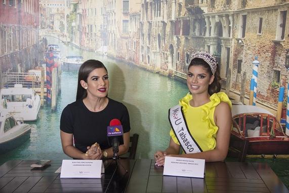 Rueda de prensa Mexicana Universal Tabasco