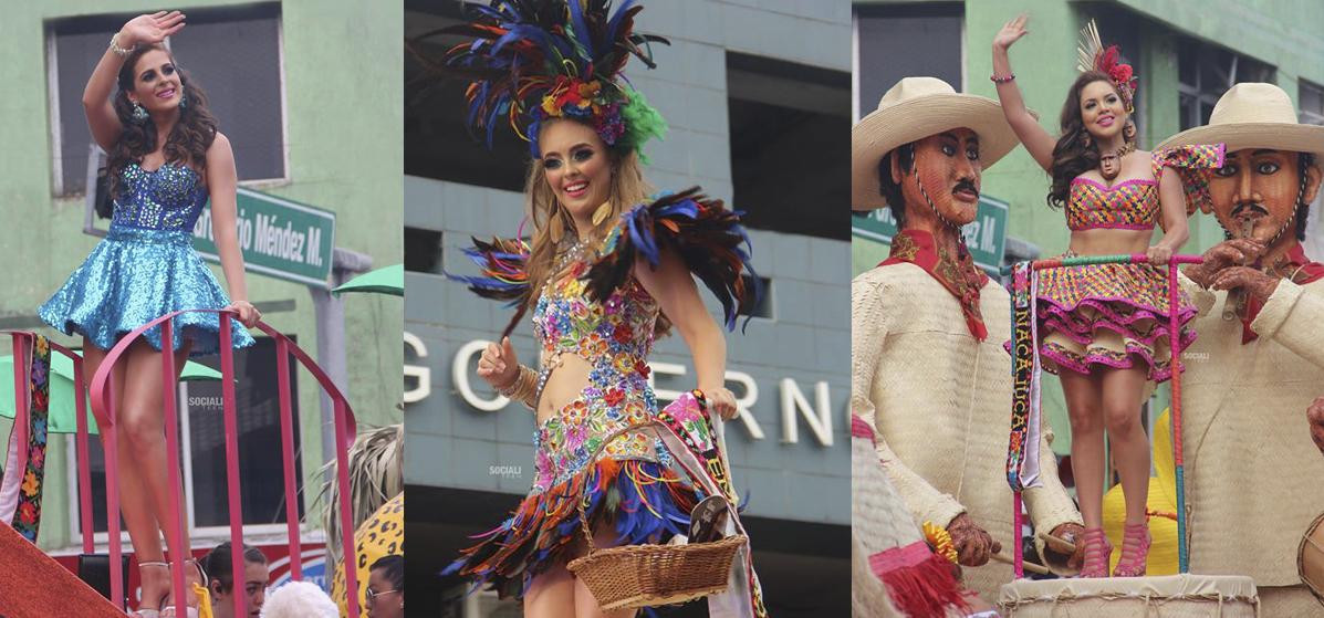 Desfile de carros alegóricos -Feria Tabasco 2019