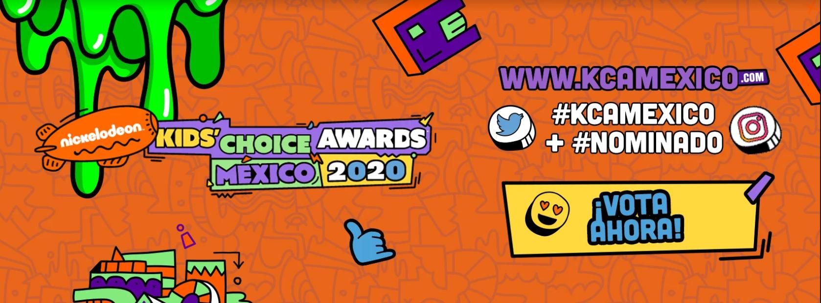 Conoce a los pre-nominados en los Kids' Choice Awards México 2020