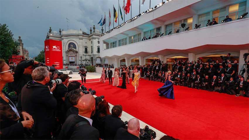 Lo mejor de la red carpet del Festival de Cine de Venecia