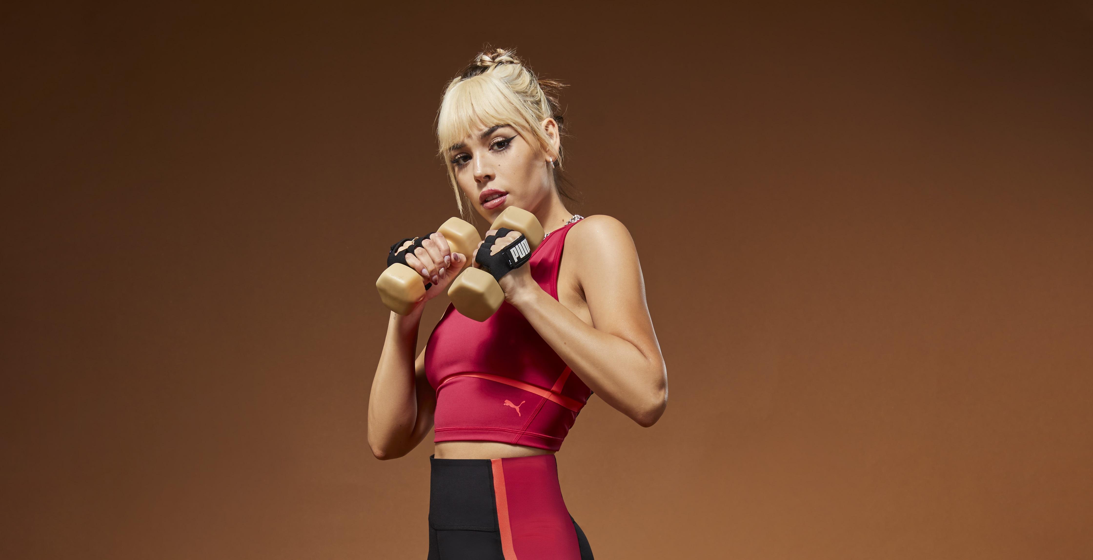 Danna Paola protagoniza la nueva campaña de PUMA con Provoke XT